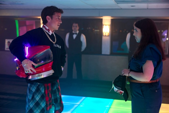 BS_00603_R Skyler Gisondo stars as Jared and Beanie Feldstein as Molly in Olivia Wilde's directorial debut, BOOKSMART, an Annapurna Pictures release. Credit: Francois Duhamel / Annapurna Pictures