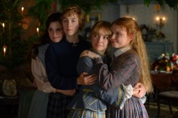 Emma Watson, Saoirse Ronan, Florence Pugh and Eliza Scanlen in Greta GerwigÕs LITTLE WOMEN